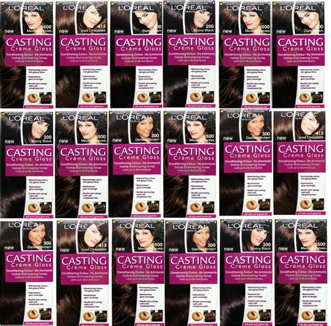 Can You Dye L Shades by L Oreal Creme Gloss Hair Colour Dye Shades No