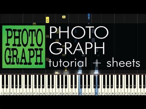tutorial piano photograph photograph piano tutorial how to play ed sheeran