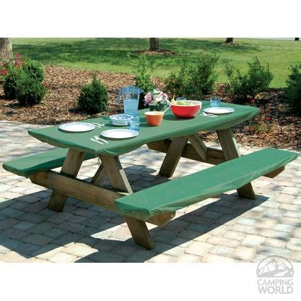 picnic table cover set bungee picnic table bench cover set benches