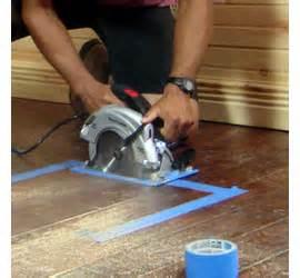 home dzine home diy how to use a circular saw
