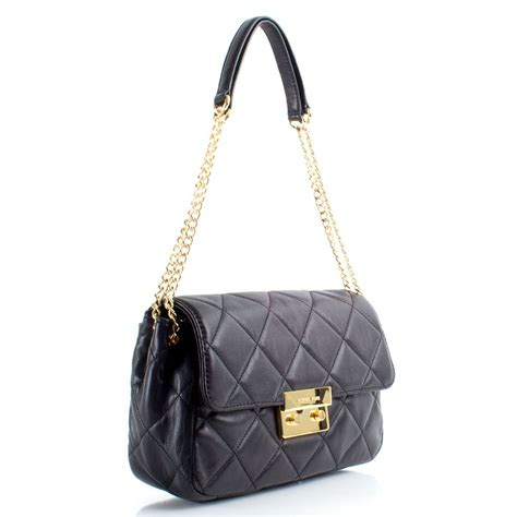 Michael Kors Quilted Handbags by Michael Kors Black Quilted Sloan S Bag