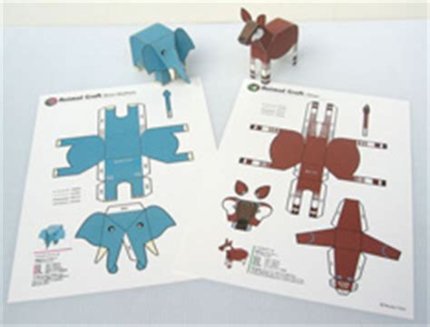 How To Make An Animal Out Of Paper - paper toys what s cool web japan web japan
