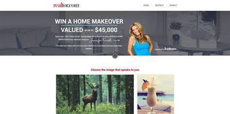 Realtor Sweepstakes - realtor com getthislook get this look sweepstakes win a 45 000 home makeover