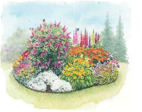 preplanned flower gardens preplanned perennial gardens perennial garden plans