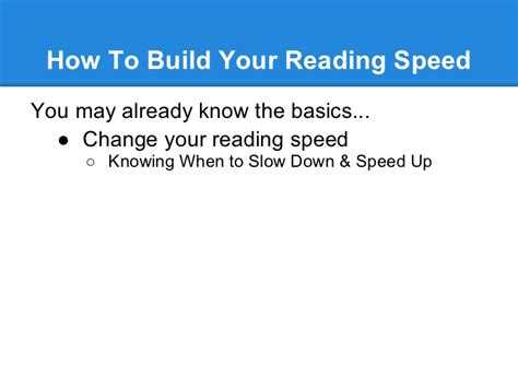 speed reading how to your reading speed and comprehension in less than 24 hours ã a scientific guide on how to read better and faster books speed reading class develop a faster reading rate with