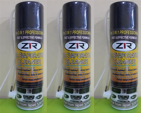 Steam Pembersih Ac jual ac evaporator cleaner zr 500ml pembersih mobil harga murah sidoarjo oleh pt alfa omega