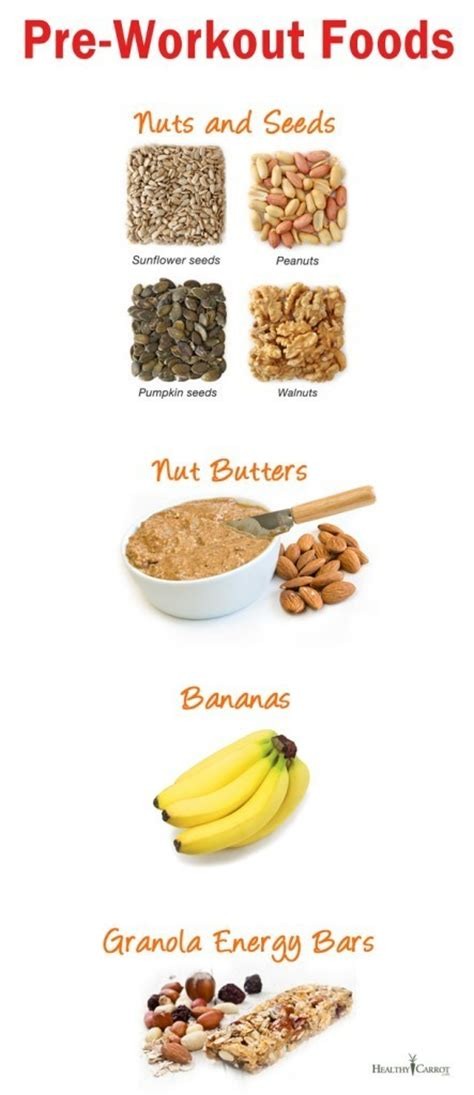 7 Great Pre Workout Snacks by Best Food Before Workout Top Pre Workout Meal