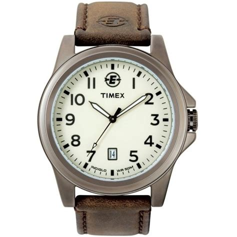 mens expedition indiglo date t46191 timex
