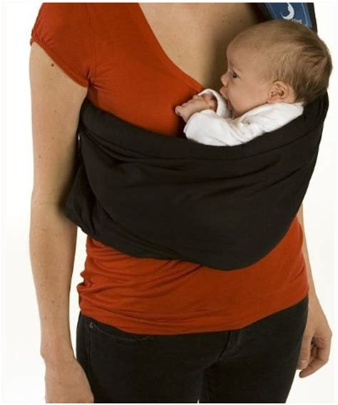Baba Slings Standart Black Bluebell Baby S House Baby Carriers Baba Slings