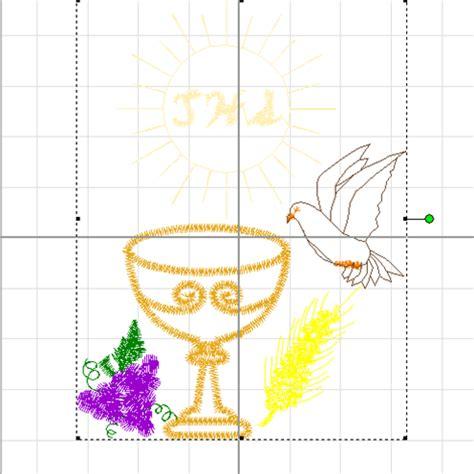 imagenes religiosas bordadas en punto de cruz caliz bordados en punto de cruz imagui
