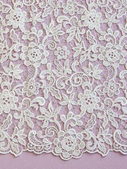 lace pattern types fabrics used to make wedding dresses