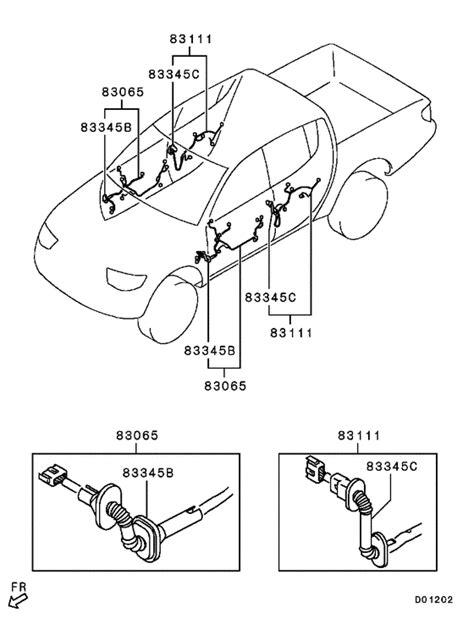 28 wiring diagram mitsubishi triton 2007 188 166 216 143