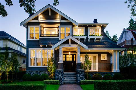 style of house point grey craftsman craftsman exterior vancouver