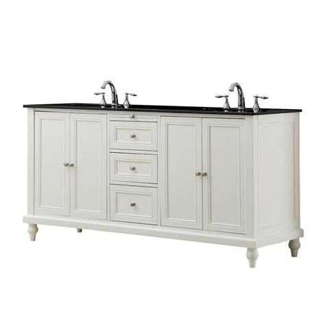 white bathroom vanity with black top direct vanity sink classic 70 in double vanity in pearl