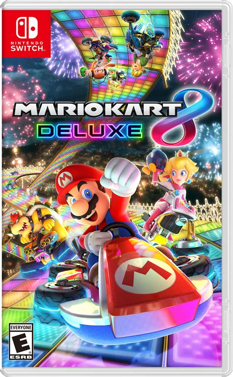 mario kart 8 deluxe nintendo switch games box art style revealed see it here vg247