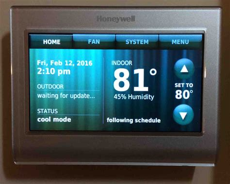 resetting wifi on honeywell thermostat how to restart honeywell thermostat tom s tek stop