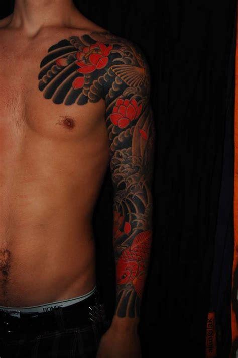 japanese tattoo on black skin 墨 tatouage homme japonais 15 id 233 es de tatouage japonais