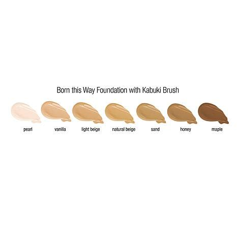 too faced pearl born this way foundation too faced born this way foundation kabuki brush pearl