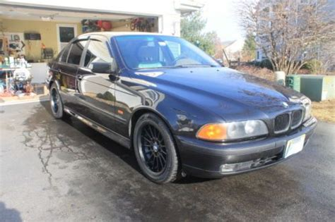 2000 bmw 540i m package sell used 2000 bmw 540i v8 6spd manual m package and