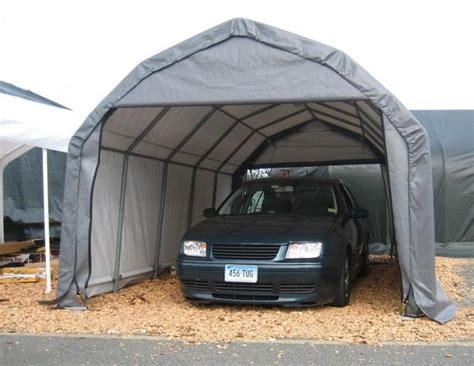 12 wx20 lx9 h barn style portable garage