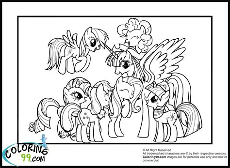 My Little Pony Coloring Pages Friendship Is Magic Cadence My Pony Friendship Coloring Pages