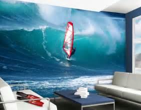 surfing wall murals photo wall mural the surfer wallpaper wall wall decor sea surfing ebay