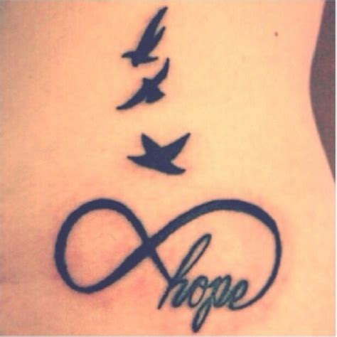 infinity tattoos with birds best tats pictures ideas