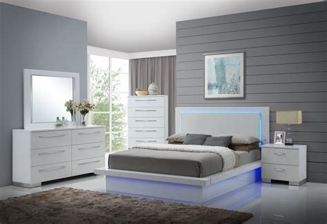 Light Up Bedroom Set by Gl2913 Sapphire Bedroom Set Furtado Furniture