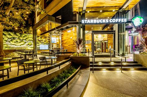 starbucks opens  leed certified store  downtown