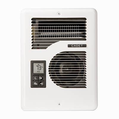 fan forced wall heater cadet cec163tw energy plus fan forced wall heater with