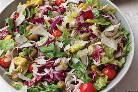 salad recipe recipe of the day italian salad huffpost