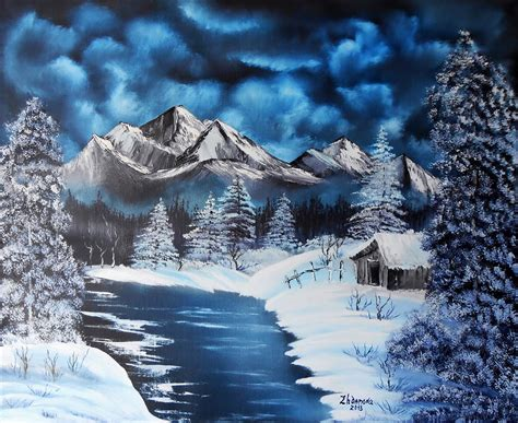 bob ross painting winter 1000 images about bob ross on bobs jokes