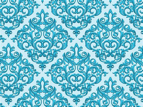damask pattern background free damask background vector