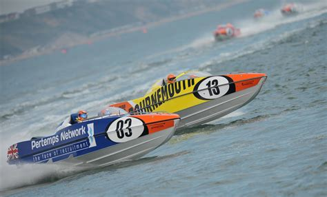 motor boats for sale bournemouth p1 powerboat and jet ski racing to return to bournemouth ybw