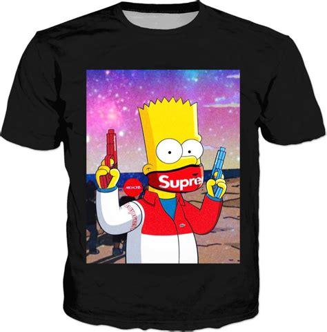 Bart Simpsons X Supreme bart supreme hypebeast t shirt