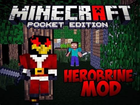 mod in minecraft pocket edition herobrine mod epico para minecraft pe 0 15 3 mods para