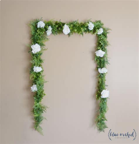 flower wedding garland wedding backdrop flower garland greenery garland greenery backdrop artificial greenery