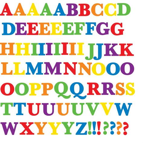 Sticker Buchstaben Bunt by Buy Peek A Boo Room Mates Colorful Alphabet Wall Decals