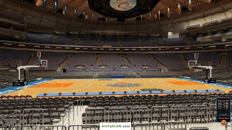 madison square garden section 107 madison square garden seating chart detailed seat