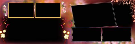 Wedding Album Templates Psd by Wedding Album Design 12x36 Psd Templates Vol 01