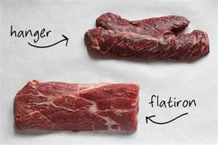 skirt flank hanger and flatiron steaks