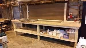 shop work benches november 2014 the reliance project