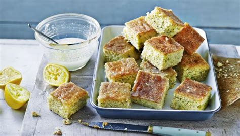lemon drizzle traybake saturday kitchen recipessaturday