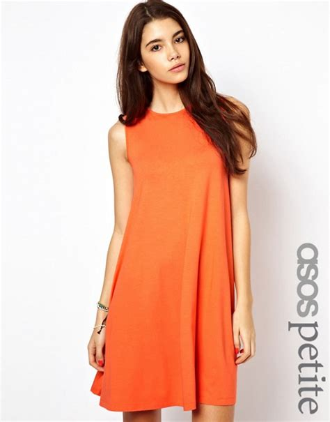 asos petite swing dress asos petite asos petite sleeveless swing dress