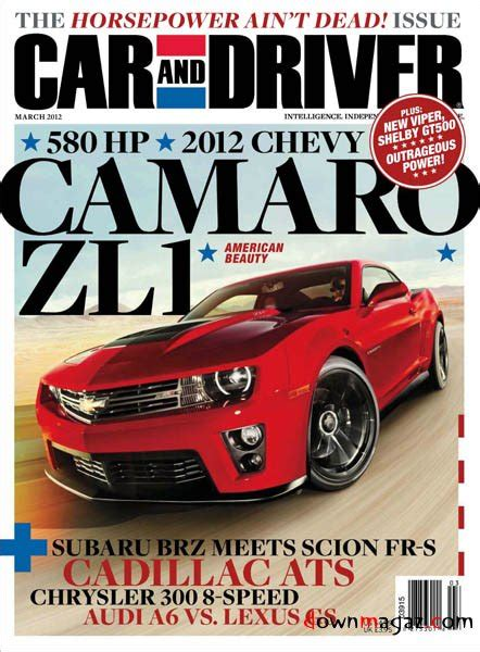 Car and Driver   March 2012 » Download PDF magazines