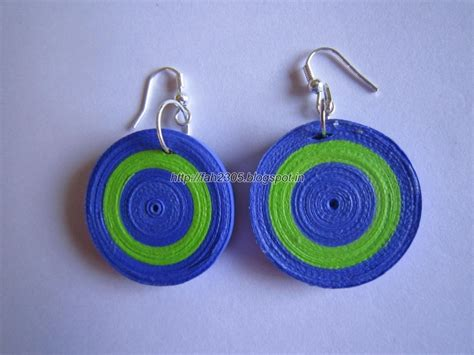 Paper Craft Paper Quilling Handmade Jewelry Earrings - 17 best images about product sale on paper