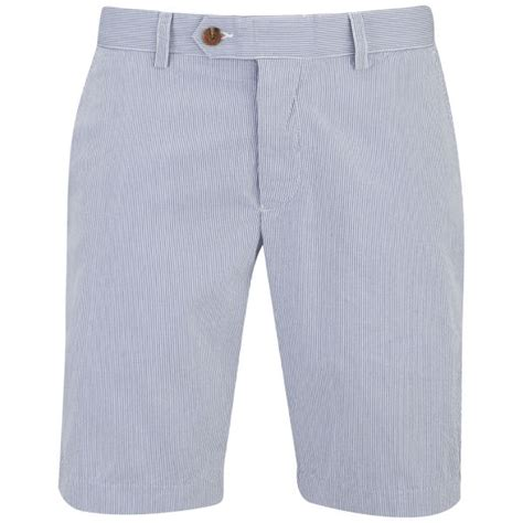 Striped Shorts blue and white striped shorts mens the else