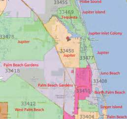 map of palm florida area palm gardens jupiter florida real estate by zip code