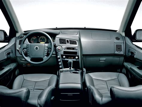 Ssangyong Kyron Interior by Ssangyong Musso Interior Image 7