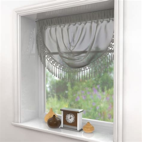 silver grey voile curtains maisy macrame silver grey voile swag tonys textiles